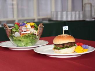 新販売のサラダデくずまき高原マルシェとくずまきバーガー
