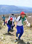 待ちわびた山開き 一関・室根山、県内トップ切り