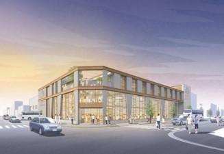 盛岡バスセンターのイメージ図(盛岡市提供)