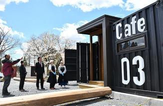 カフェやグランピング施設を整え29日に改装オープンするサンシャインスタイルビレッジ