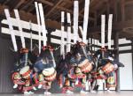 コロナ収束祈り舞う 奥州・江刺鹿踊保存会が公演