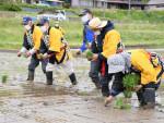 江刺金札米 100年の先へ 奥州で田植え祭り