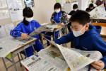 社会への関心 広く深く 二戸市内全8小学校が本紙活用