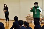 避難体験、教訓学ぶ 盛岡峰南高等支援学校