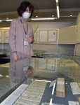 偉人の人柄、時代映し出す 盛岡市先人記念館が新収蔵資料展示