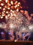復興照らす夜の華 陸前高田・三陸花火大会の代替行事