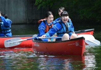 カヌー挑戦、自然満喫 久慈市、教育旅行受け入れ開始