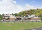 釜石祥雲支援学校が移転へ 小中高一貫、充実の環境