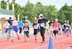 緑の風受け駆ける 2年ぶり金ケ崎マラソン