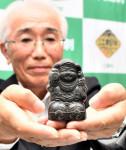 大黒像 江刺金札米の証し 奥州で発見、昭和初期に封入し出荷