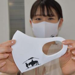 滝沢市観光協会が発売した「チャグチャグ馬コ応援マスク」
