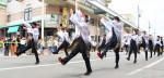厄年連が創作演舞 まちに活気 奥州で2年ぶり商人まつり