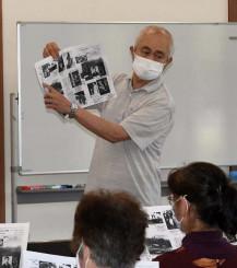 高村光太郎の生涯を紹介する内田正好さん