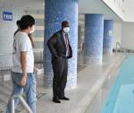 迫る五輪、事前合宿へ手応え ルワンダ大使が施設視察