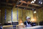 築100年超の納屋カフェに 遠野、特産ワサビ使ったメニューも