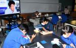 宇宙に迫る研究の意義学ぶ 厳美中でILC特別授業