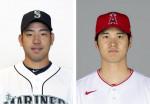 大谷翔平が先発出場、菊池雄星と対戦 米大リーグ花巻東高対決