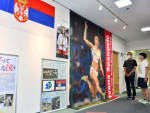 活躍期待のセルビア紹介 北上でホストタウン・パネル展