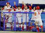 ソフトボール日本「金」、米破る