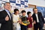 「宇宙旅の種」花開け ミッション実行委、釜石市に届ける
