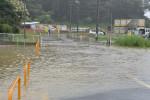 台風8号、本県を通過中 厳重な警戒を呼び掛け