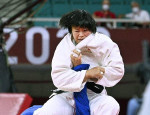 柔道女子の浜田尚里が金メダル