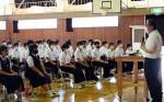 運営生徒、成功誓う 盛岡で来月全国中総文祭