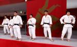 柔道の混合団体は銀メダル