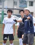 遠野中にサッカー名伯楽 元日本代表・古前田充さん