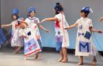 ファッションショーで三鉄PR 三陸国際芸術祭