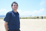 ビーチバレー聖地再生へ 高田松原海開き