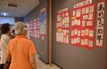 被災者に寄り添う絵手紙 花巻・ボランティア蟻灯の会が展示会