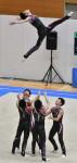 新体操男子団体、盛岡市立出し切り3位 全国高校総合体育大会