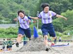 アツい砂浜の青春 山田高生が海の運動会