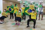 パラサッカー決勝に熱視線 遠野市民がPVでブラジル応援