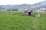 震災伝える仮看板 庁舎跡地に設置へ 大槌町、年内完成目指す