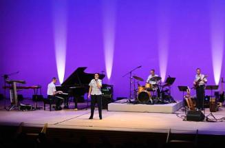 観客を魅了した米国空軍太平洋音楽隊のコンサート