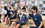 支え合う心、画面越しに共有 大槌高生ら台湾五輪選手と交流