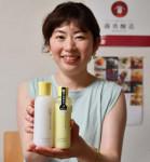 「甘糀」の発酵力 乳液に 釜石・藤勇醸造、20日発売