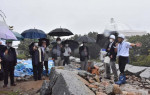 石垣修復施工範囲 盛り土は影響せず 盛岡城跡整備委確認