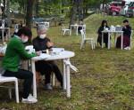 まったり「森のカフェ」 宮古、自然の中で満喫