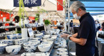 全国の有名陶器ずらり 北上で26日までチャリティー販売会