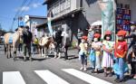 馬っこと訴える事故防止 遠野市交通安全協会宮守分会
