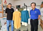 地球にやさしい服作り 二戸の縫製会社、残り生地活用