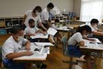 災害の歴史から学ぶ教訓 八幡平・柏台小で出前講座