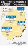 21年県産米「やや良」 コロナ影響、主食用米の作付減
