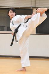 国際大会で優勝し、さらなる高みを目指す小原一花さん