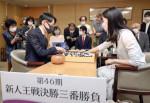 外柳是聞三段(盛岡出身)が新人王獲得 囲碁