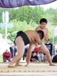 未来の横綱、燃やす闘志 山田、元白鵬ゆかりの土俵で県学童大会