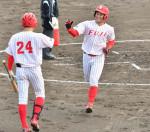 富士大が3季連続V 北東北大学野球、PO制す